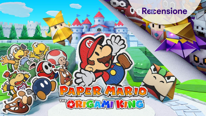 <strong>Paper Mario: The Origami King</strong> - Recensione