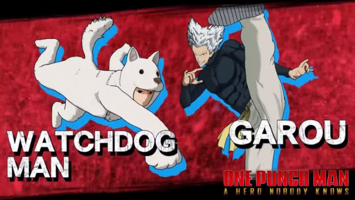 One Punch Man A Hero Nobody Knows aggiunge Watchdog e Garou