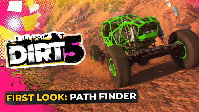Mostrati gli eventi Path Finder su DiRT 5