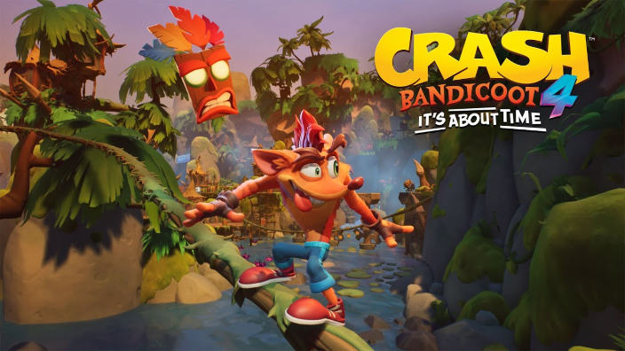 Primo video game play per Crash Bandicoot 4