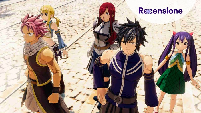<strong>Fairy Tail</strong> - Recensione dell'RPG
