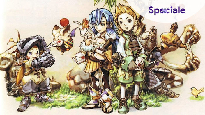 Final Fantasy Crystal Chronicles Intervista con Ryoma Araki