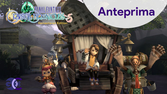 Final Fantasy Crystal Chronicles Remastered Edition Anteprima