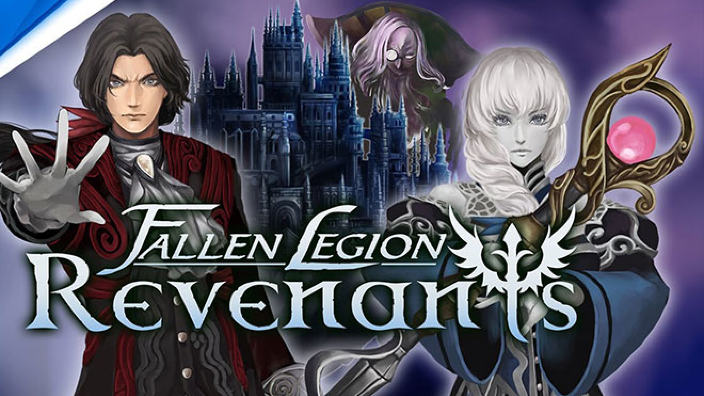 Fallen Legion Revenants presenta il cast con un trailer