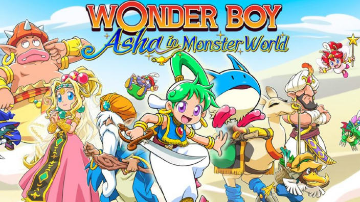 Svelato Wonder Boy: Asha in Monster World