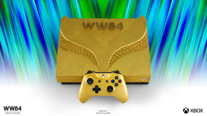 Provate a vincere una Xbox One X a tema Wonder Woman