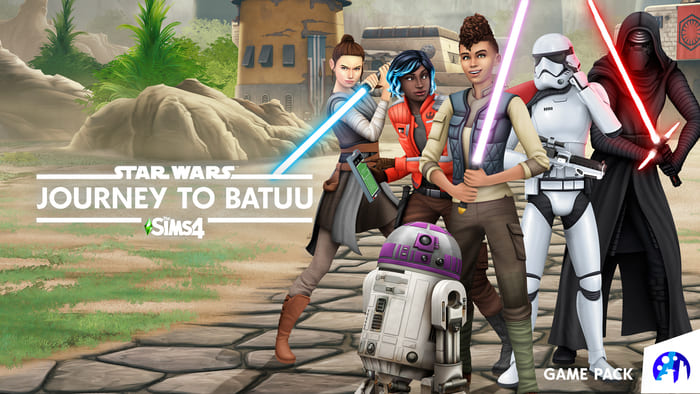 The Sims 4 si prepara ad accogliere Star Wars con Journey to Batuu