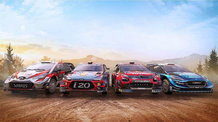 Da oggi WRC 9 è disponibile