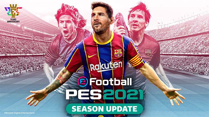 eFootball PES 2021 Disponibile