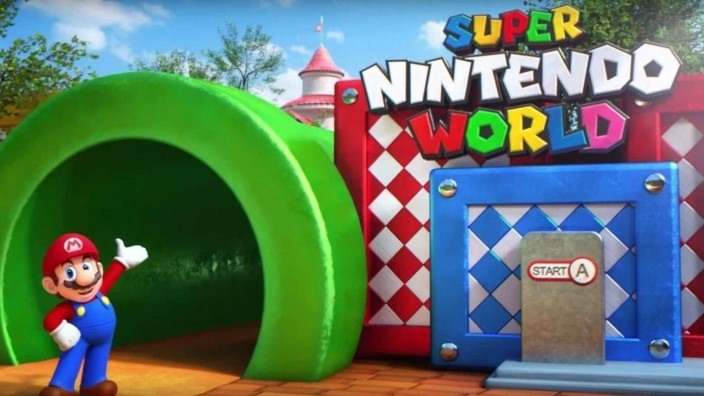 Il Super Nintendo World in funzione in video