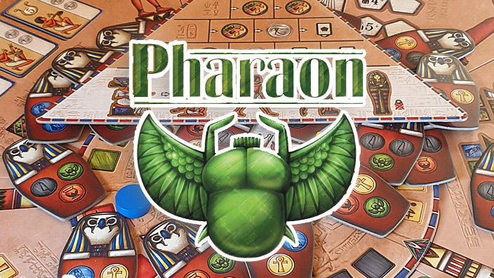 <strong>Pharaon</strong> - Recensione del gioco in scatola
