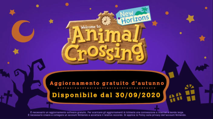 Animal Crossing New Horizons - A breve la stagione autunnale