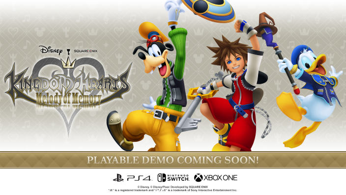 Kingdom Hearts Melody of Memory - demo in arrivo