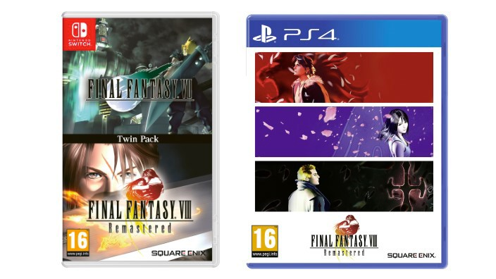 Final Fantasy Twin-Pack in arrivo su Nintendo Switch