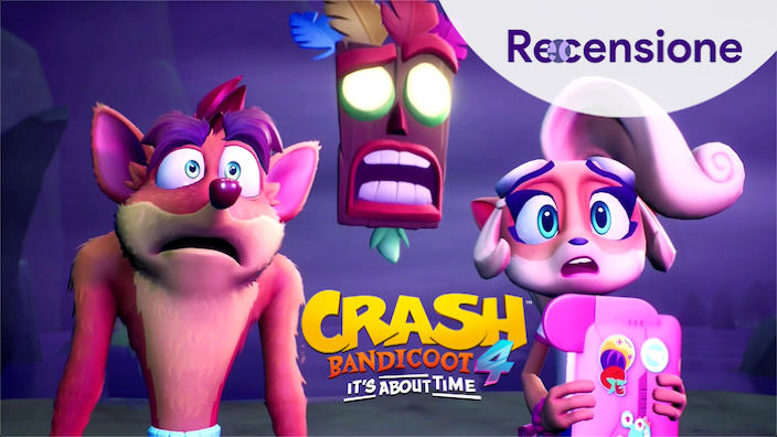 <strong>Crash Bandicoot 4 - It's About Time</strong> - Recensione