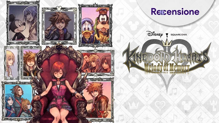 <strong>Kingdom Hearts Melody of Memory</strong> - Recensione