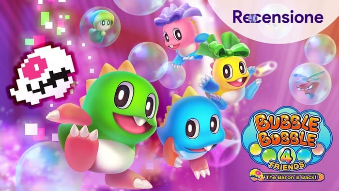 <strong>Bubble Bobble 4 Friends The Baron is Back</strong> - Recensione