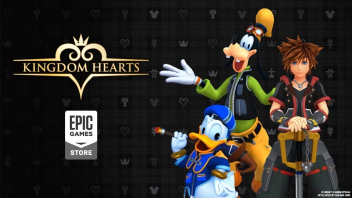 La serie Kingdom Hearts sbarca su PC