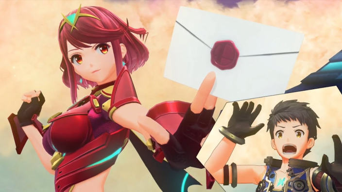 Pyra e Mythra in arrivo su Super Smash Bros. Ultimate