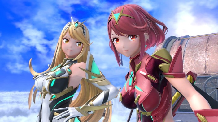 Super Smash Bros. Ultimate, Pyra/Mythra arrivano oggi!