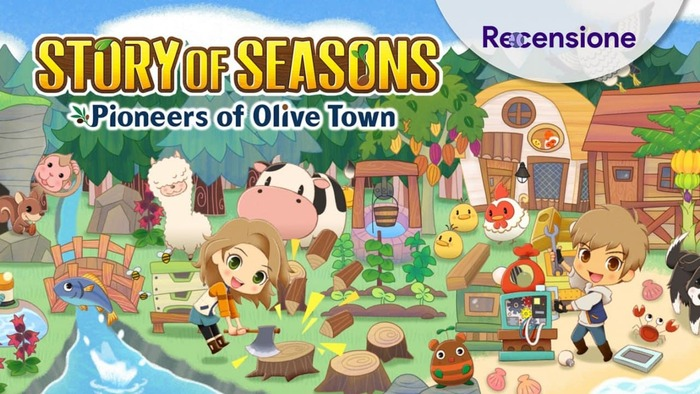 <strong>Story of Seasons Pioneers of Olive Town</strong> - Recensione