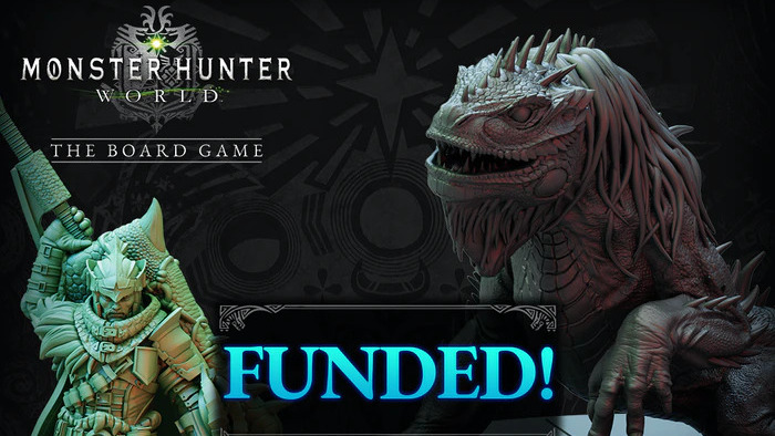 Monster Hunter World diventa un gioco da tavolo