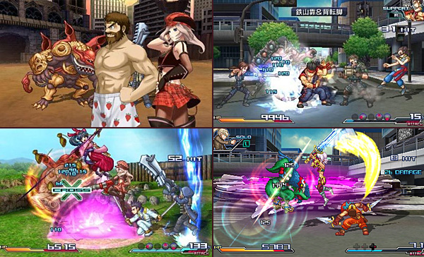 Project X Zone - screenshots 01